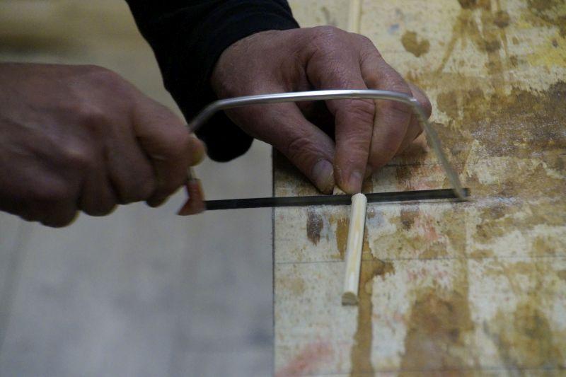 How to: Pfeilschäfte aus Kiefernholz zuschneiden