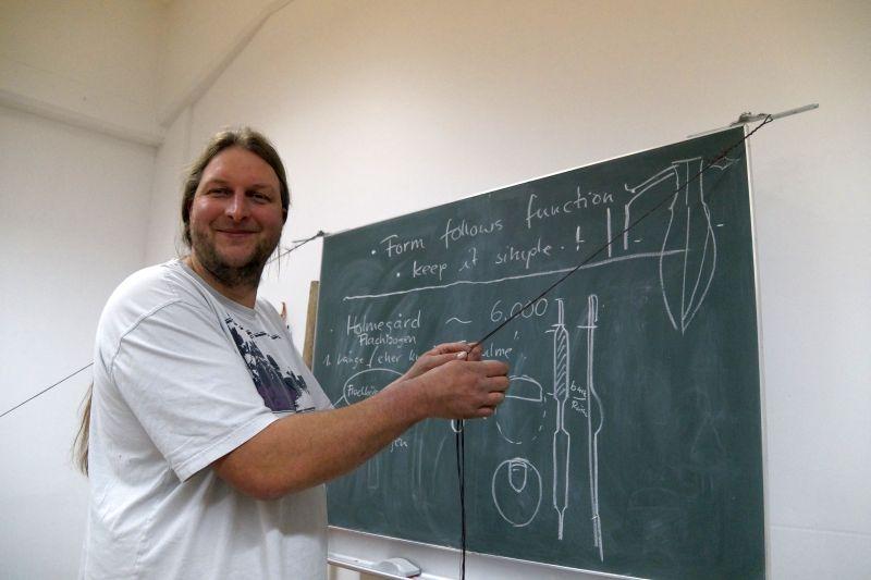 So entsteht eine flämisch gespleisste Sehne aus Dacron