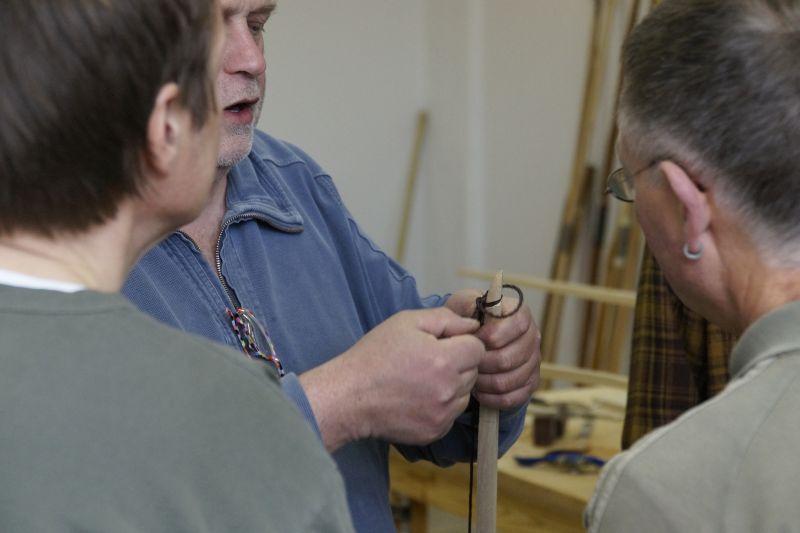 Bogenbau: Thies Kühn verrät seinen Bogen-Spezial-Knoten