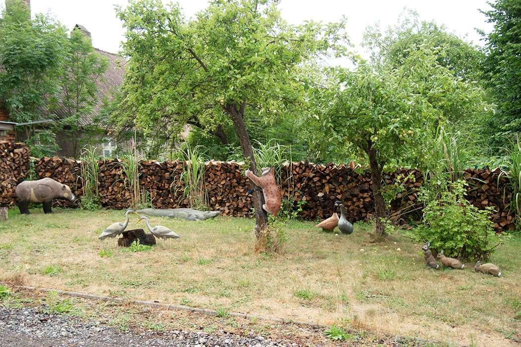 Wir haben mächtig Holz vor der Hütte und verschiedenste 3D-Ziele zu Bejagen