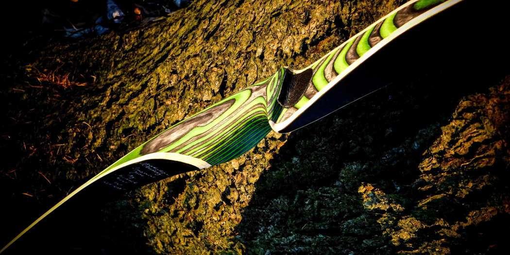 Der Jade von Jackalope by Bodnik Bows ist schon optisch ein Hingucker