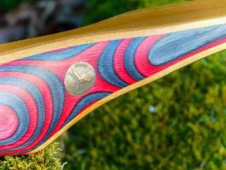 Der Red Beryl kommt inkl. Jackalope Archery Plakette