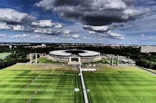 Tolle Kulisse für eine Weltcup-Etappe: das Maifeld vor dem Berliner Olympiastadion