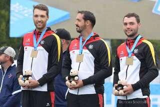 Die Compound-Herren erzielten im letzten Jahr überraschend Bronze