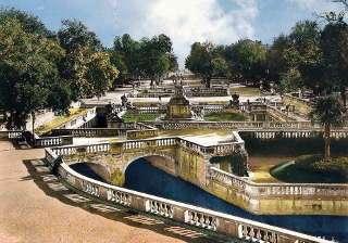 Der Jardin de la Fontaine ist auch im Winter sehenswert