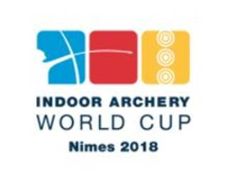 Logo Indoor Archery World Cup in Nimes 2018