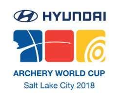 Logo Hyundai Archery World Cup Salt Lake City 2018