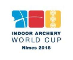 Logo Indoor Archery World Cup Etappe 3 Nimes 2018