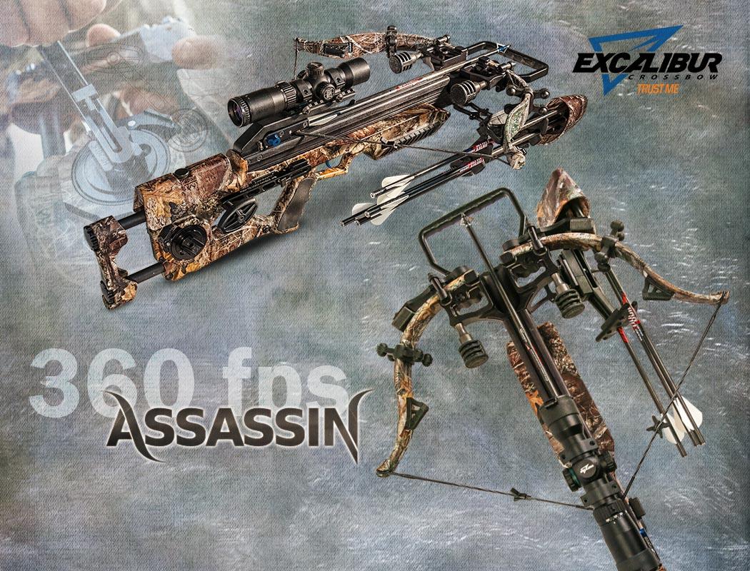 Die neue von Excalibur - Assassin 360 Recurvearmbrust