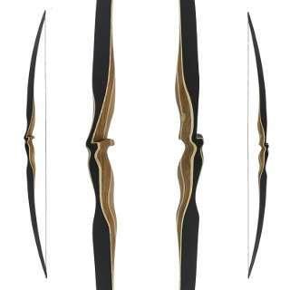 Der Amber von Jackalope Archery ist ein wettkampftauglicher IFAA Langbogen