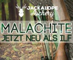 Der Jackalope Malachite - jetzt neu als Take Down Recurve im ILF System!