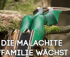 Der Jackalope Malachite - jetzt neu als Recurve und Hybrid Take Down im Stecksystem!