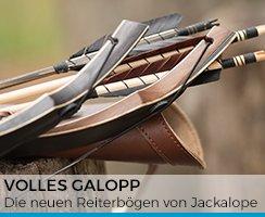 Volles Galopp: die neuen Reiterbögen von Jackalope Archery