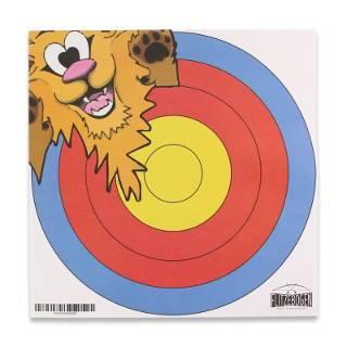 Der kleine Löwe begleitet eure Indianer beim Bogenschießen