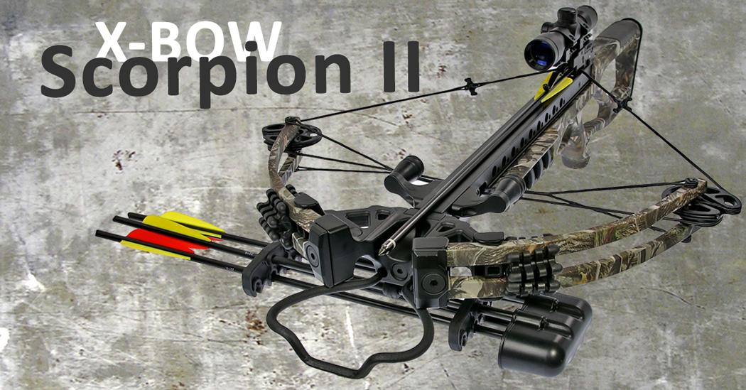 Viel Armbrust für kleines Geld: die neue Scorpion II von X-Bow