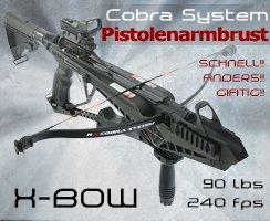 Revolutionär: die Cobra System von X-Bow jetzt mit Schnellspannhebel