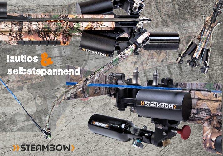 Das neue Steambow Armbrust Upgrade macht richtig Druck