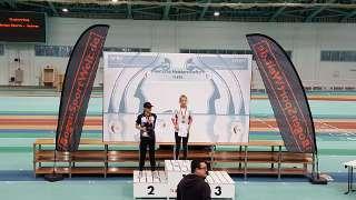 Annika konnte sich so zum Abschluss der Saison über den Deutschen Vize-Meister freuen
