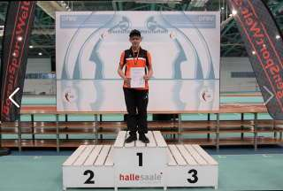 Hannes konnte sich über den Deutschen Meister-Titel freuen