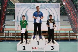 Marten Hecht erzielte mit seinem Compound den Deutschen Vize-Meister-Titel