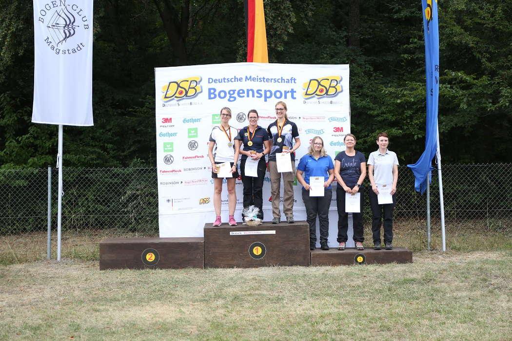 Daniela Klesmann holte Gold bei der DM Feldbogen in Magstadt