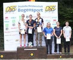 Daniela Klesmann gewinnt die Rangliste UND die DM Feldbogen 2018