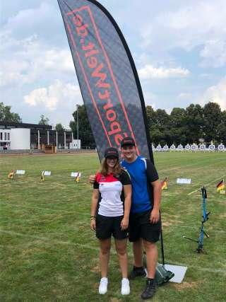 Domenic reiste zusammen mit Talida zur Rangliste nach Raubling