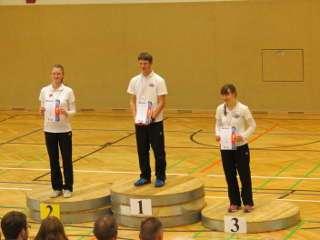 Elsa erzielte den Vize-Landesmeister u20 w+m Recurve