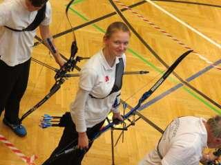 Elsa Neumann auf der Landesmeisterschaft in Crivitz