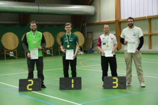 Leon sicherte sich gleich bei beiden Verbänden den Landesmeistertitel Halle