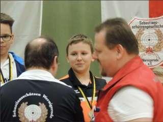 Compounder Marten Hecht freute sich über seine Bronze-Medaille auf der LM