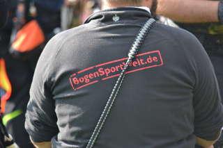 Auch BSW war vor Ort - als Sponsor und vertreten durch Schützenteam