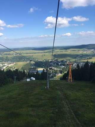 Es mussten in Oberwiesenthal einige Höhenmeter überwunden werden