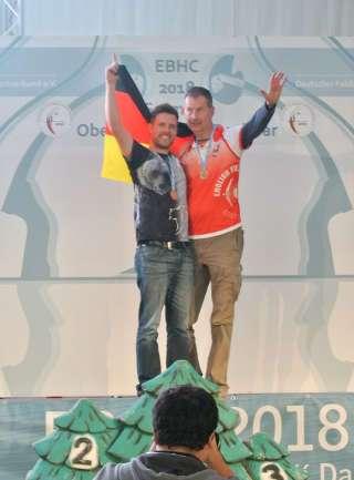 Gold im Einzel - Glückwunsch an Europameister Philipp Räder