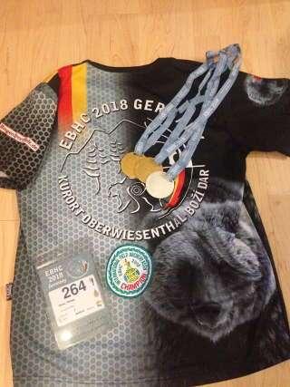 Medaillenregen: Zweimal Gold und einmal Silber für Philipp Räder auf der EBHC 2018