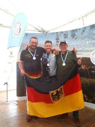 EBHC-Silber mit der FSR Mannschaft für Philipp Räder