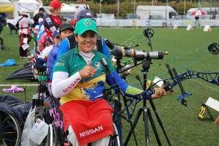 Durch ihren Sieg in Olbia steht Jane Karla nun auf Platz 1 der paralympischen Weltrangliste