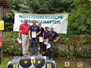Richard Klesmann sicherte sich den Landesmeistertitel Feldbogen B-W 2018