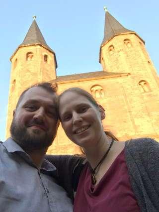 David und Amke im sachsen-anhaltinischen Drübeck