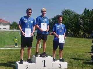 Lukas Lange sicherte sich auf der Kreismeisterschaft den 1. Platz