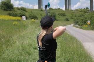Auch in Rohr erwartete Linda wieder bestes Sommerwetter und trotz der Hitze sicherte sie sich jeweils den 1. Platz