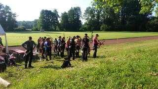 Schützenfeld auf der DM Feld und Jagd DFBV in Hördt