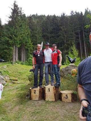 Franz Reinprecht wurde Tiroler Vize-Meister 2018