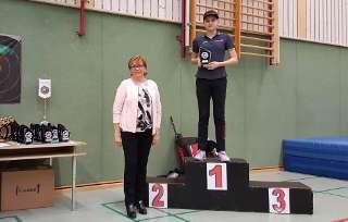 Annika Rennett konnte sich über den ersten Platz freuen