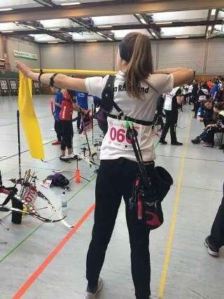 Annika Rennett gewann auch das Tübinger TÜrnament und so die Gesamtwertung des Rheinischen Hallenchampionats
