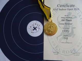 So sicherte sich Jona bei den AAE Indoor Open den 1. Platz