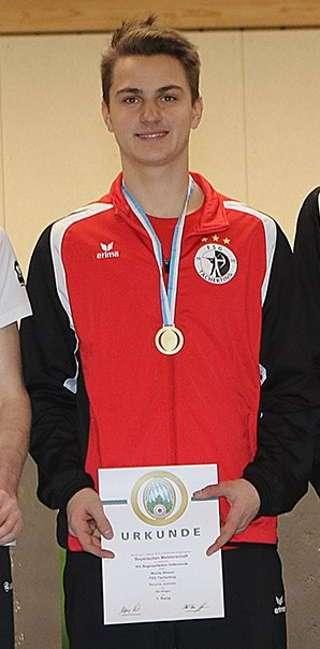 So holte sich Moritz erneut den Bayrischen Meistertitel