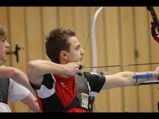 Moritz Wieser hatte bei der Bayrischen Meisterschaft das Ziel fest im Blick