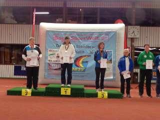 Annedore konnte sich über den neuen Titel Deutsche Meisterin Halle DBSV 2018 freuen