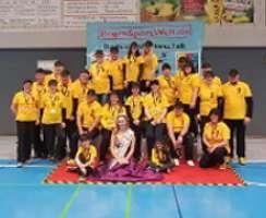Das Team der Mühlhausener Speed Bow Hunters sorgte für eine gelungene DM
